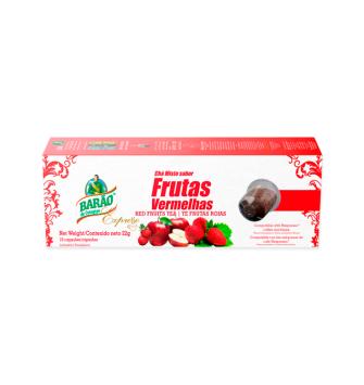 Chá Frutas Vermelhas Barão Expresso 22g