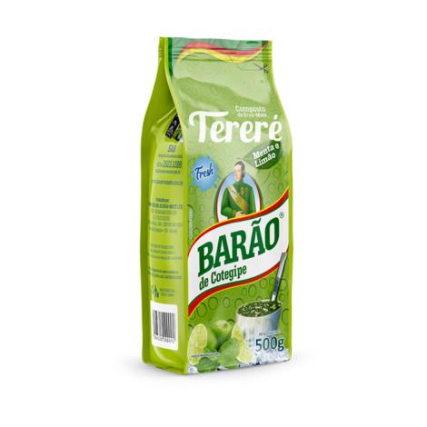 Tereré Menta e Limão Fresh Barão 500G
