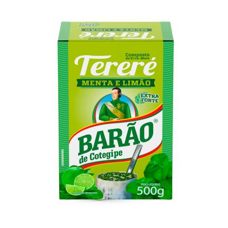 Tereré Menta & Limão Barão 500g