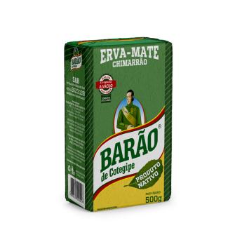 Erva Mate Barão Nativa a Vácuo 500g