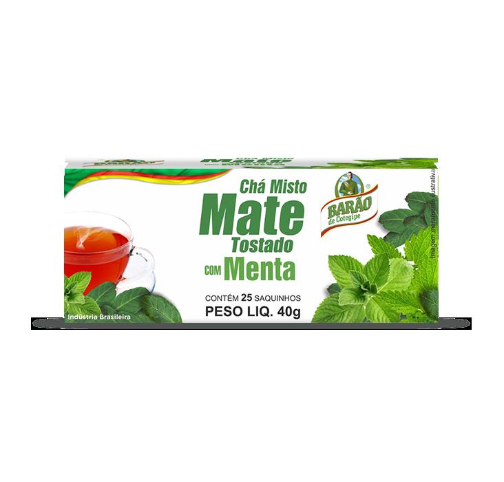 Chá Mate Tostado com Menta 40 G