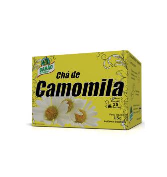 CHÁ CAMOMILA BARÃO 15g