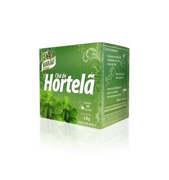 CHÁ HORTELÃ BARÃO 10g